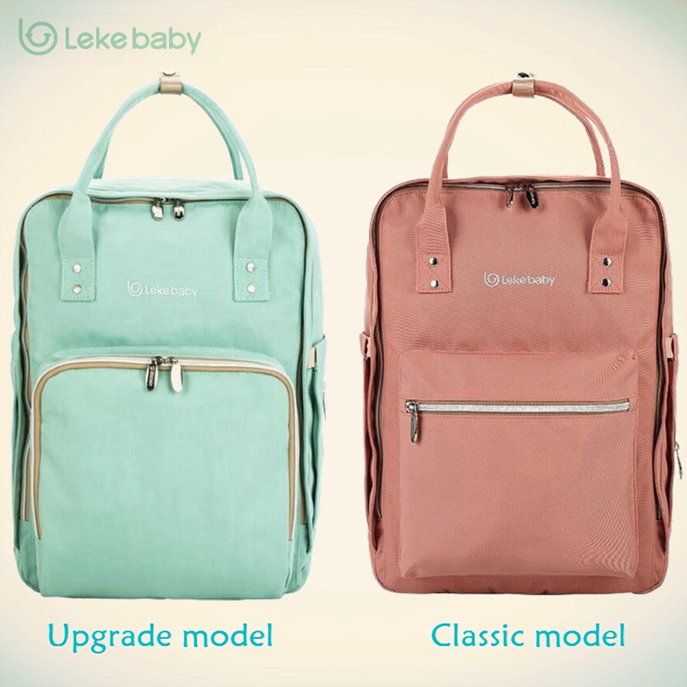 Lekebaby New Baby Bag for Mom Travel Backpack Large Diaper Bag Organizer Diapers Nappy Bags Maternity Bags Mother Baby Handbag sunveno pu leather baby bag organizer tote diaper bags mom backpack mother maternity bags diaper backpack large nappy bag