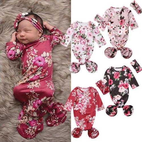 08ee53a9b523 New Design 2Pcs Set Baby Girl Floral Sleeping Bag Fashion Newborn ...