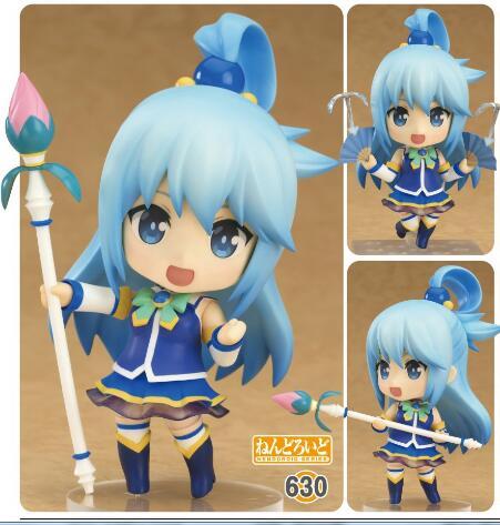 10cm Aqua Akua Akeya Kono Subarashii Sekai Ni Shukufuku O!  In The Life Action Figure Toys Collection Christmas Gift Doll