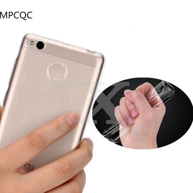 Mpcqc ультратонкий для Xiaomi Mi6 Mi5 Mi5s плюс Mi5c Max 2 Redmi Note 4x4 Pro 3 S 4A 5X прозрачный ТПУ телефон случае Мягкая Обложка Сумки