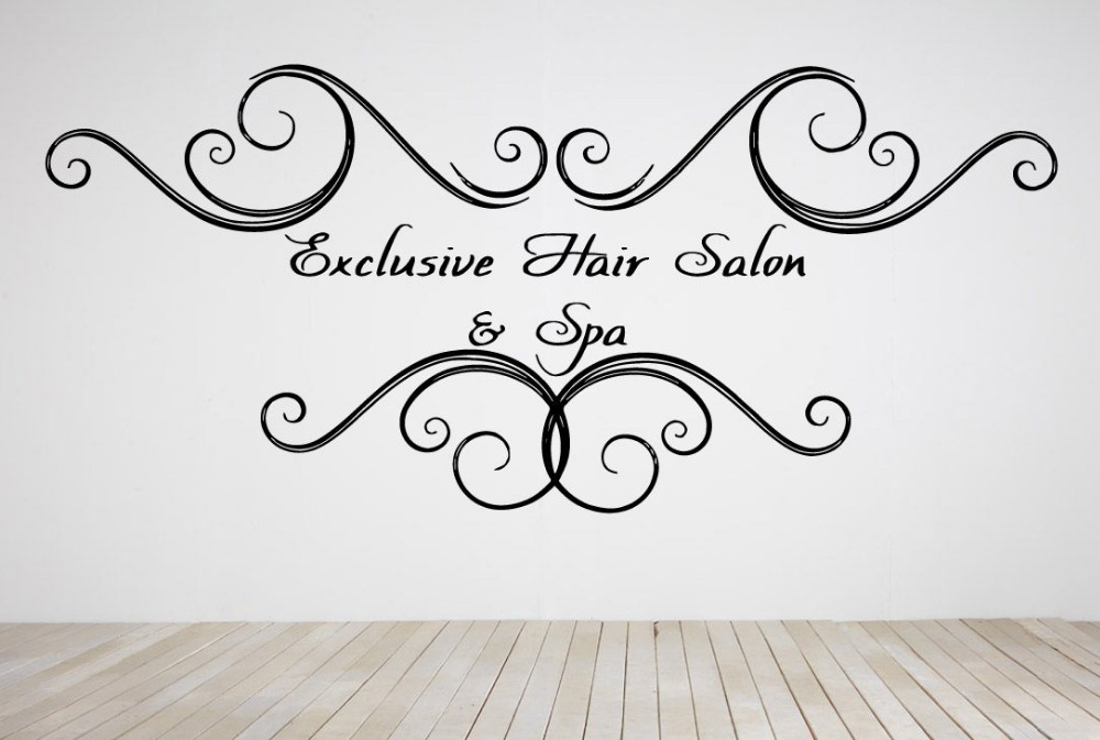 Compare Prices On Shining Vinyl Online ShoppingBuy Low Price - Custom vinyl wall decals for hair salon