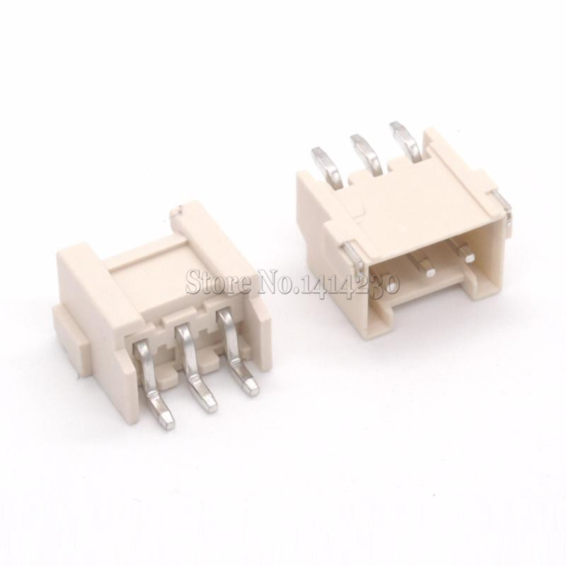 10Pcs VH3.96 3.96mm Horizontal Type Pitch SMT Plug-in Base Connector 3Pin