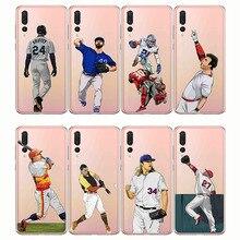 baseball cartoon Bryce Harper soft silicone phone cases cover Capinha Coque fundas capa for Huawei P20 P30 P10 P8 P9 Pro Lite