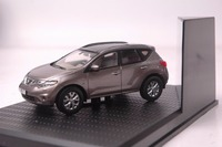 1:43 Diecast Model for Nissan Murano Brown SUV Alloy Toy Car Miniature Collection Gifts