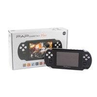 4.3 pouce HD TFT 4 GB Consoles de Jeux portables Portable 64 Peu Mini Vidéo Jeux Joueurs Soutien Sortie TV MP3 MP4 MP5 Caméra E-Book