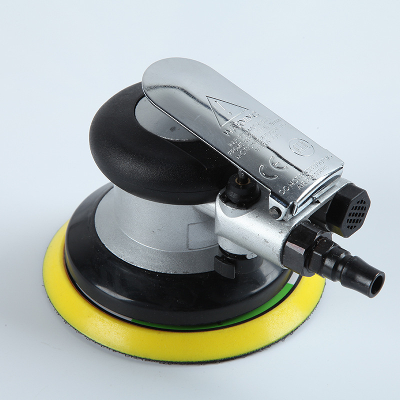 Mini Orbital Pneumatic Grinding Machine Sander Polishing Machine 125mm 5 inch Eccentric Circular Furnitur Grinding Hand