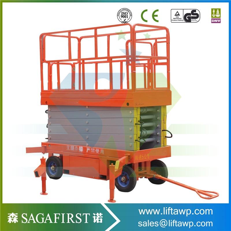 Full-Electric Hydraulic Scissor Lift