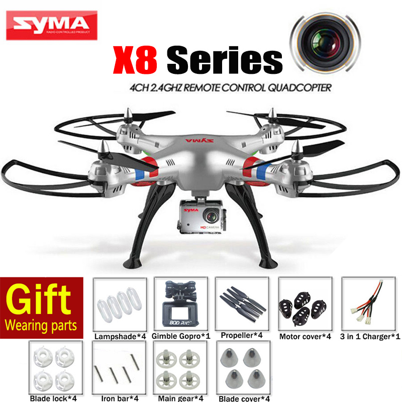 Cheappest SYMA X8G X8C X8W X8 RC Helicopter 2 4G 4CH 6 Axis font b Drone