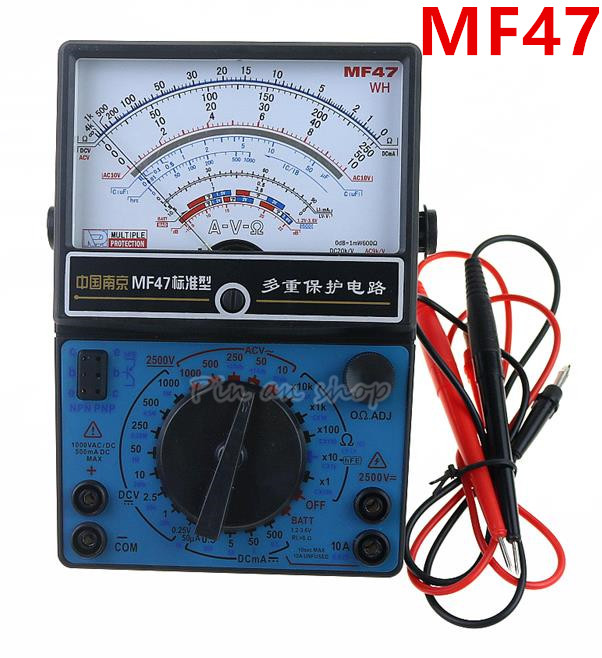 цена на MF47 DIY Kit electronic practice multimeter suite pointer multimeter parts