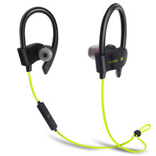 56S Bluetooth Earphones Wireless Earhook Sports Sweatproof Stereo Earbuds Headset In-Ear Headphones with Mic For Running Fitness