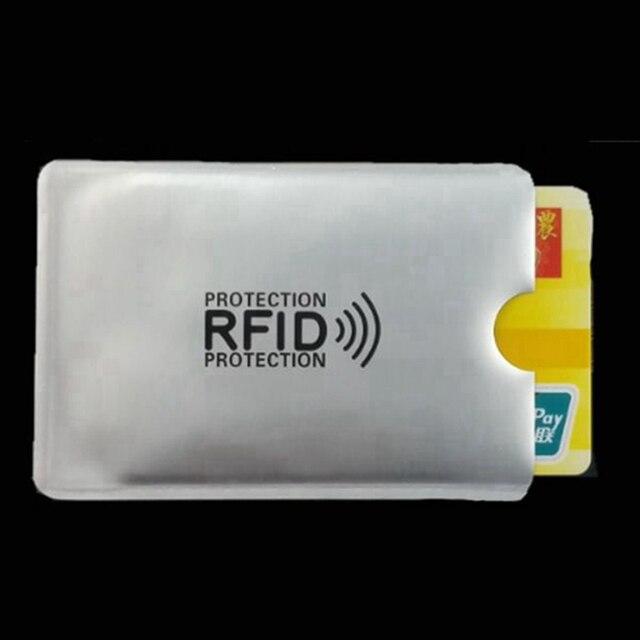 RFID bezpečnostní obal pro karty 5 ks -