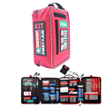 First Aid Kit for Workpleace and Home Outdoors Camping Hiking Emergency KIT Treatment 4 Sections Pack