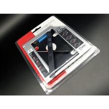 10PCS LOT Universal Second 2 5 HDD SSD Caddy 12 7mm SATA To SATA Hard Drive