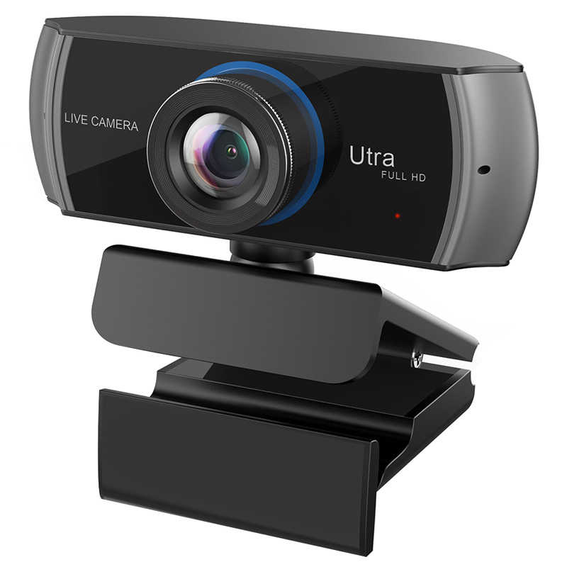 Unzano Pro Stream Webcam 1080P HD Auto Focus Web Camera Game
