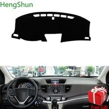 Для Honda CRV 2012 2013 2014 2015 2016 автомобилей Стайлинг тире коврик покрытие для приборной панели наклейка на приборную панель Обложка козырек от солнца крышка приборной доске ковер