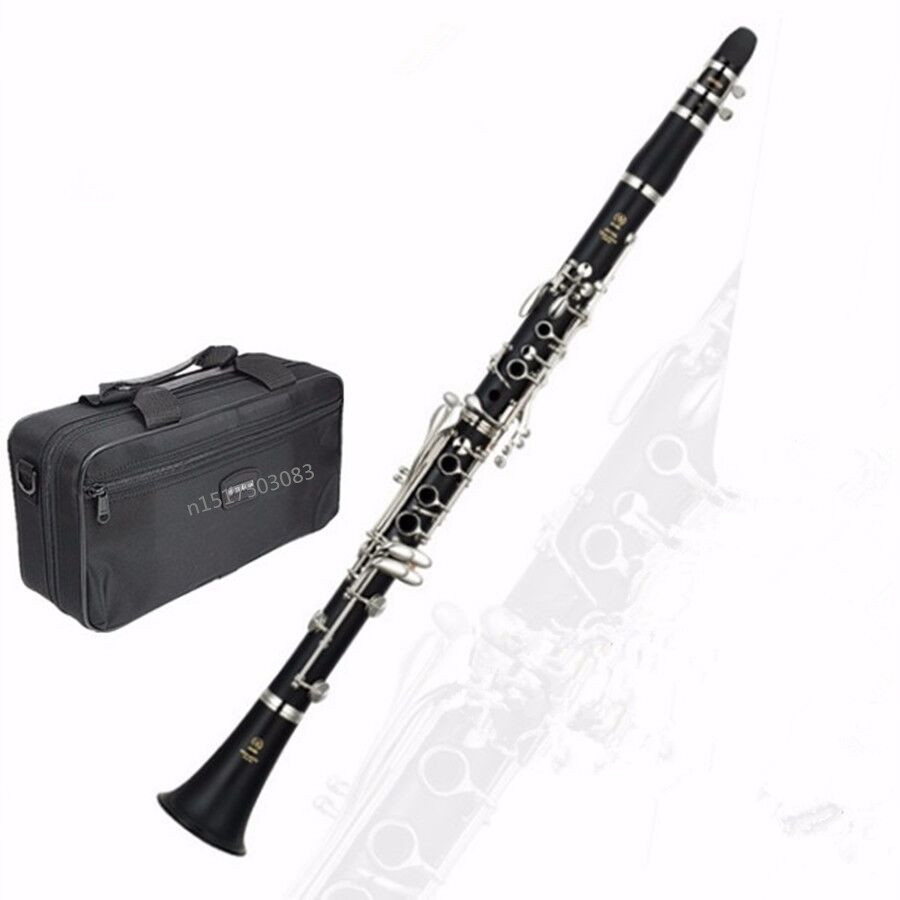 Clarinet  musical instrument clarinet  High Quality 17 Keys Crampon Clarinet with Playing Accessories for Musical musical instrument repair tools for saxophone flute clarinet repair