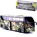 High class alloy bus  , Metal military bus model open door,  25Cm in length, military toys car