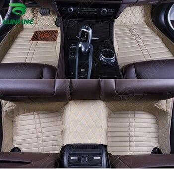 Top Quality 3D car floor mat for BMW 3 series foot mat car foot pad 4 colors Left hand driver drop shipping