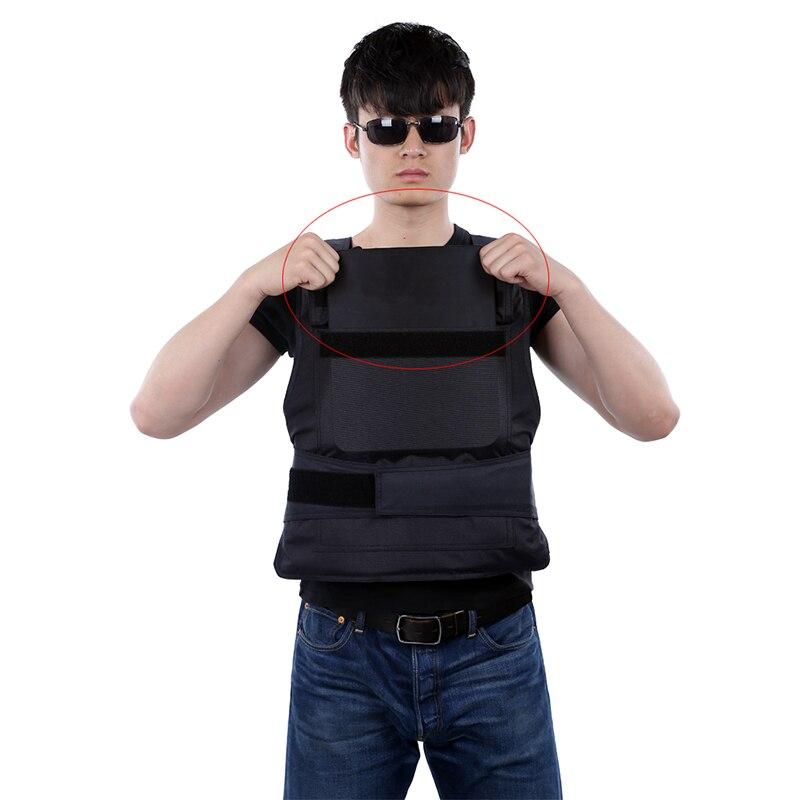 Plaque pare-balles niveau IV 4.0mm clapet de poitrine pour AK47 gilets pare-balles armure corporelle 6.0mm M16 trois types de plaque d'épaisseur - 5