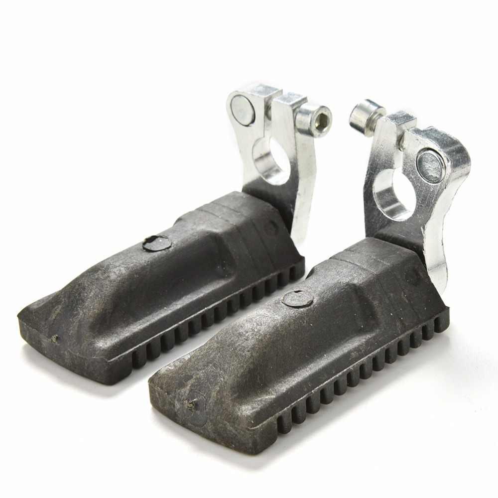 1 paar Voetsteunen Rest Voetsteunen Footpegs voor 47cc 49cc Mini Moto Pocket Bike Minimoto Fiets Pedalen
