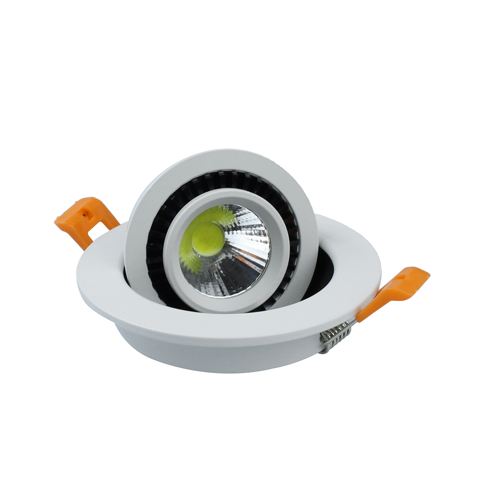 2015 New Arrival 5W 7W 9W 20W COB led Recessed downlight AC85 265V LED Spot light