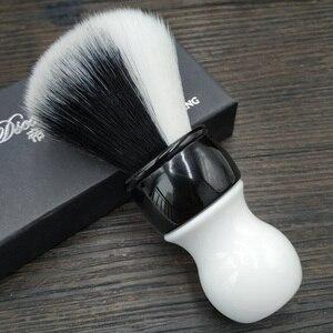 Image 2 - Dscosmetic 26mm new YIN/YANG soft and good backbone synthetic hair shaving brush for man shaving