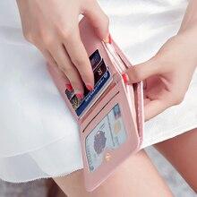 2017 New Short Women Wallet New Letter Female Purse Women s Wallet Famous Brands Women s