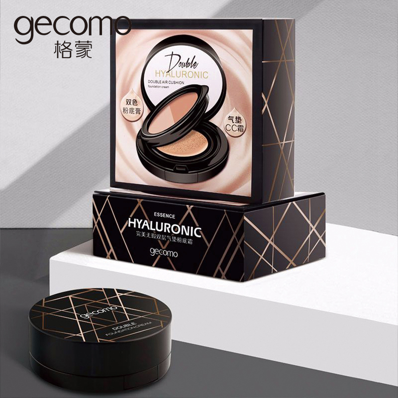 Two-Color Foundation Cream Air Cushion CC Cream Isolation Concealer Lasting Moisturizing Makeup Sin Maquillaje