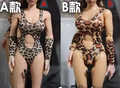 "1/6 scale figure doll clothes female Leopard underwear for 12"" Action figure doll accessories.not include doll,shoes and other"