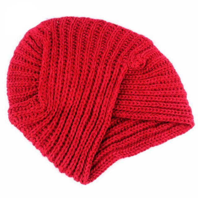 6461f438a900b Kknitted Winter Hat Ethnic Wind Wrap Wool Hat Women Turban Head Caps Twist  Headwrap Knitted Hats