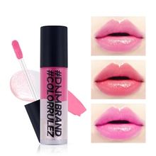 Lip Gloss 3 Colors Sweet Red Lip Tint Liquid Lipstick Waterproof Long Lasting Makeup Lip Glaze недорого