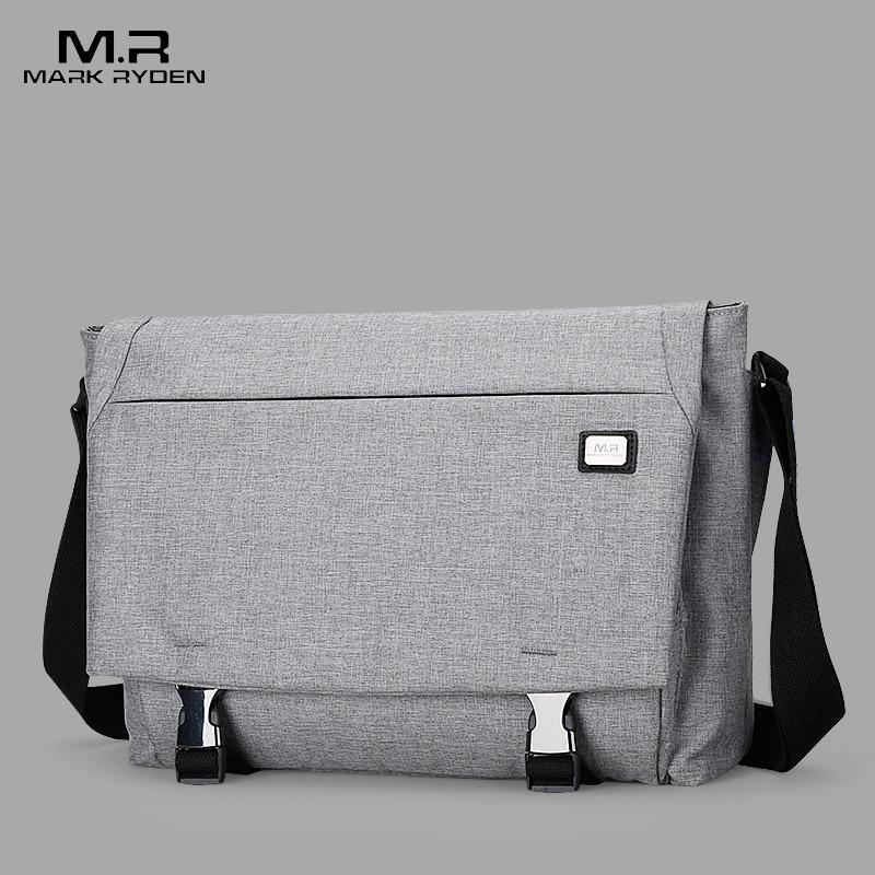 Mark Ryden New Crossbody Bags for Men Water Repellent Messengers Bag Business Casual Shoulder Bags