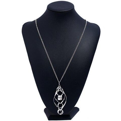 Ожерелье женское в богемном стиле 2 шт