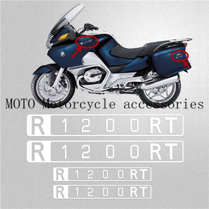Motorcycle REFLECTIVE Stickers FAIRING Decals For BMW R1200 RT R1200RT