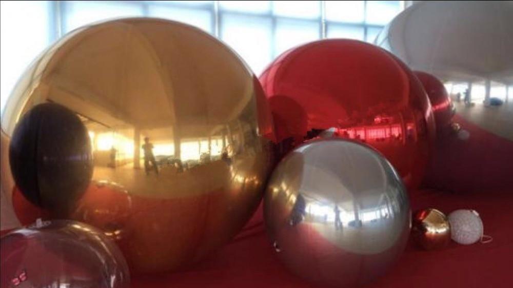 Прилагођена декорација позорнице Рекламни балони на напухавање огледала