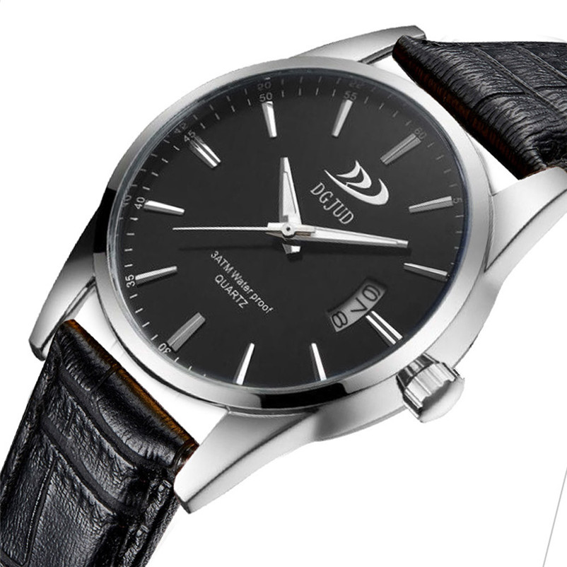 Mens Watches Top Brand Luxury Trendy Men Military Sport Leather Casual Stainless Steel Quartz Wrist Watch relogio masculino 2017 fashion stainless steel leather men s military sport analog quartz wrist watch men square casual watches relogio masculino