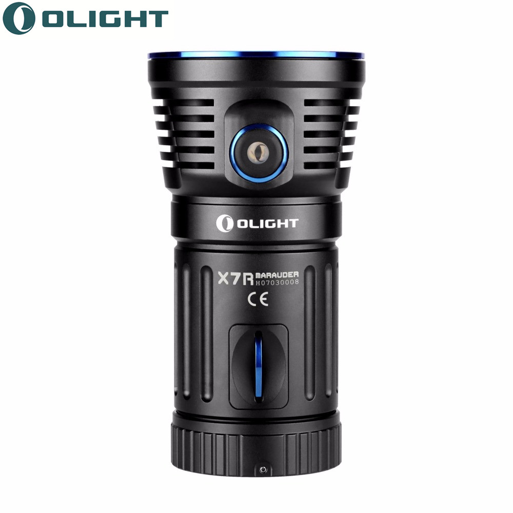 Olight Led Flashlights X7R Marauder Max 12000 Lumens 3xCree XHP70 CW USB Type-C Charging Rechargeable LED Torches Smart Control