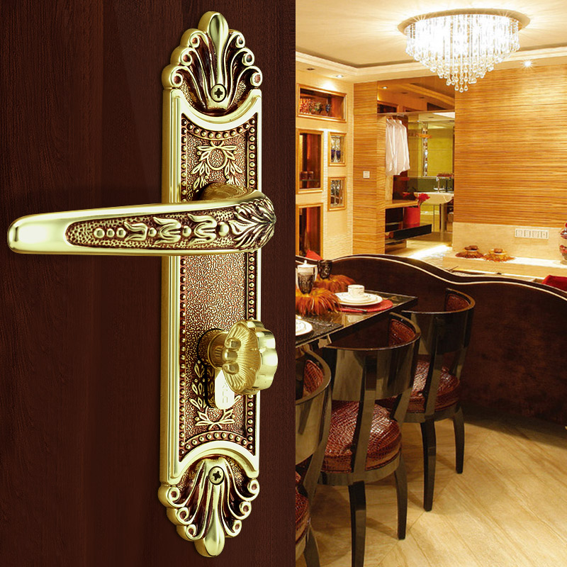 klc germany european interior lock copper wood door lock the bedroom