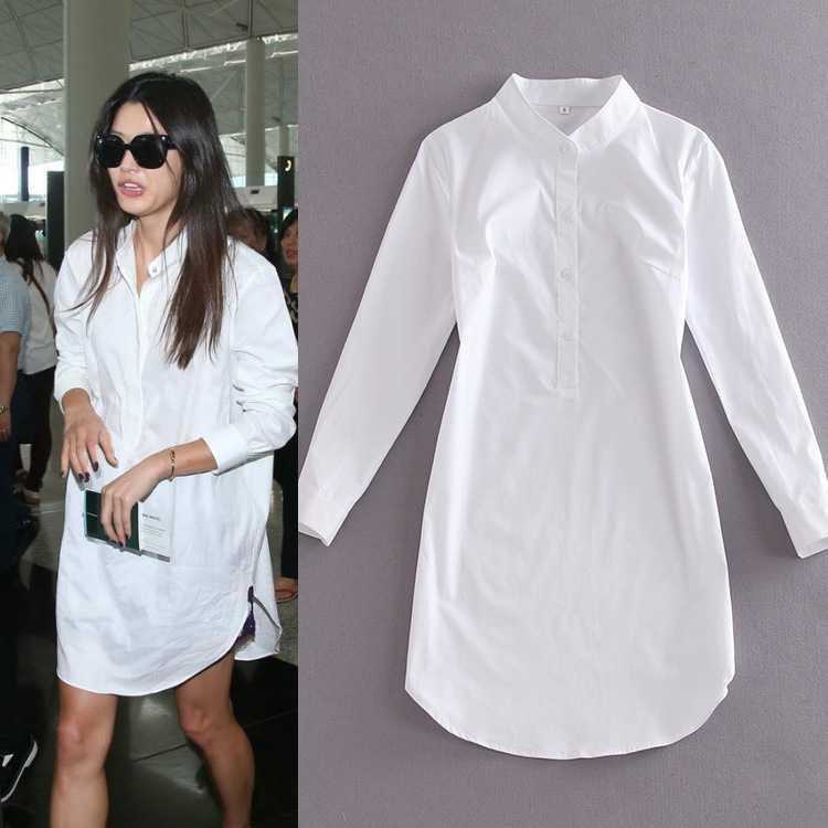 Ladies White Dress Shirts