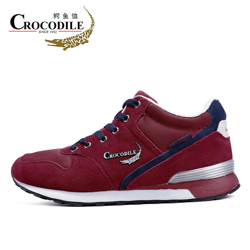 Crocodile 2017New Male Thermal Athletic Sneakers Mens Korean Style Sport Shoes Warm Tennis Shoes Men Jogging Sport Shoes4315973