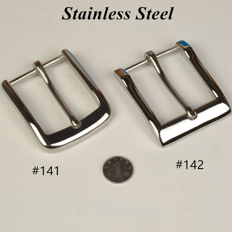 100% Pure Stainless Steel Belt Buckle Mens Pin Buckles Suit 4cm Leather Belts Boucle Ceinture Jeans Accessories Retail Wholesale Buckles & Hooks Back To Search Resultshome & Garden