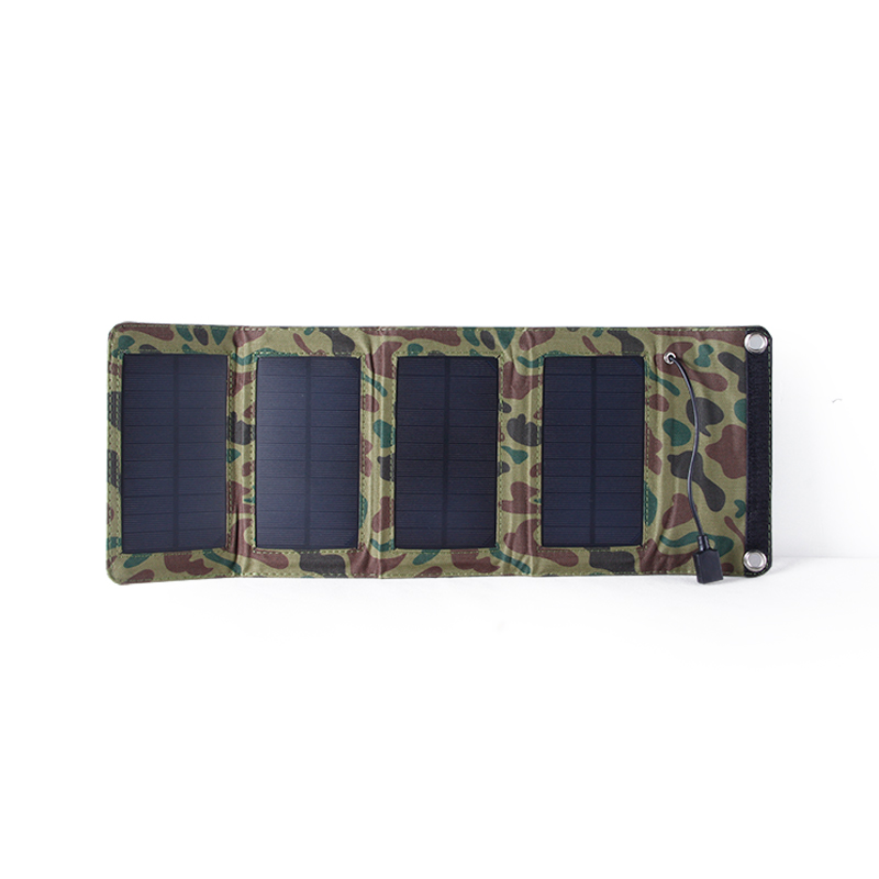 5.5V 7W Portable Sunpower Folding Solar Panel Charger Battery USB Output Controller Pack for Phones for PSP MP4