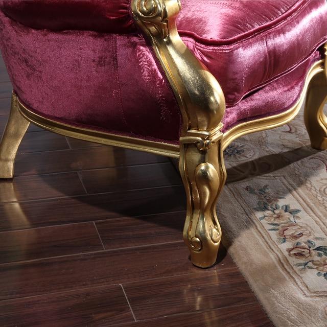 2016 filiphs palladio  high quality Classical European high-grade fabric sofa europe 1 seater sofa classical furniture