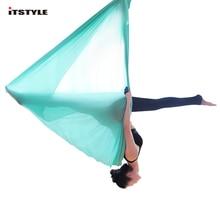 5 метров Воздушный Гамак для йоги эластичность качели многофункциональные Антигравитационные тренировочные ремни для йоги