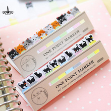 cute kawaii diy memo pad sticky Notepaper Post-it note cartoon animal bear cat heart frog sticker office school supplies