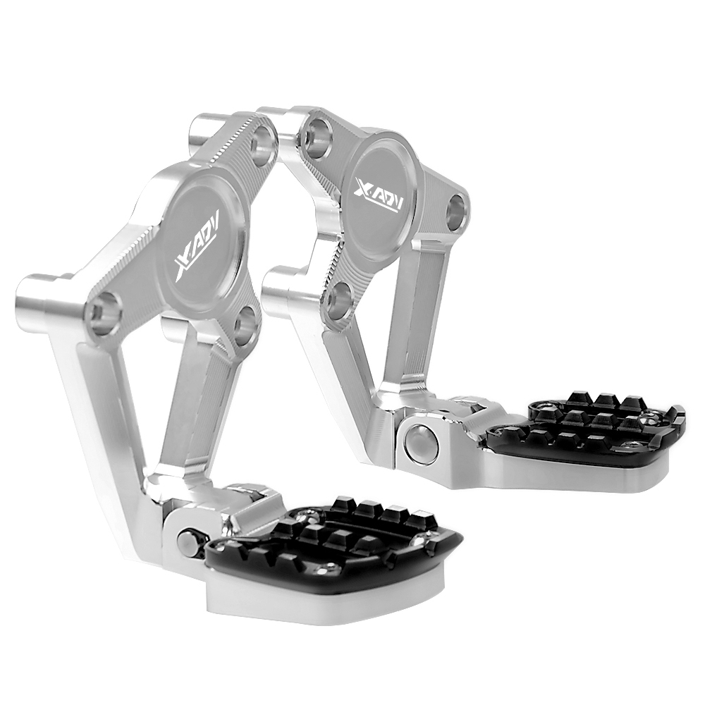 For HONDA X ADV XADV X-ADV 750 XADV750 2017 2018 Motorcycle Accessories Folding Rear Foot Pegs Footrest Passenger Rear foot Set