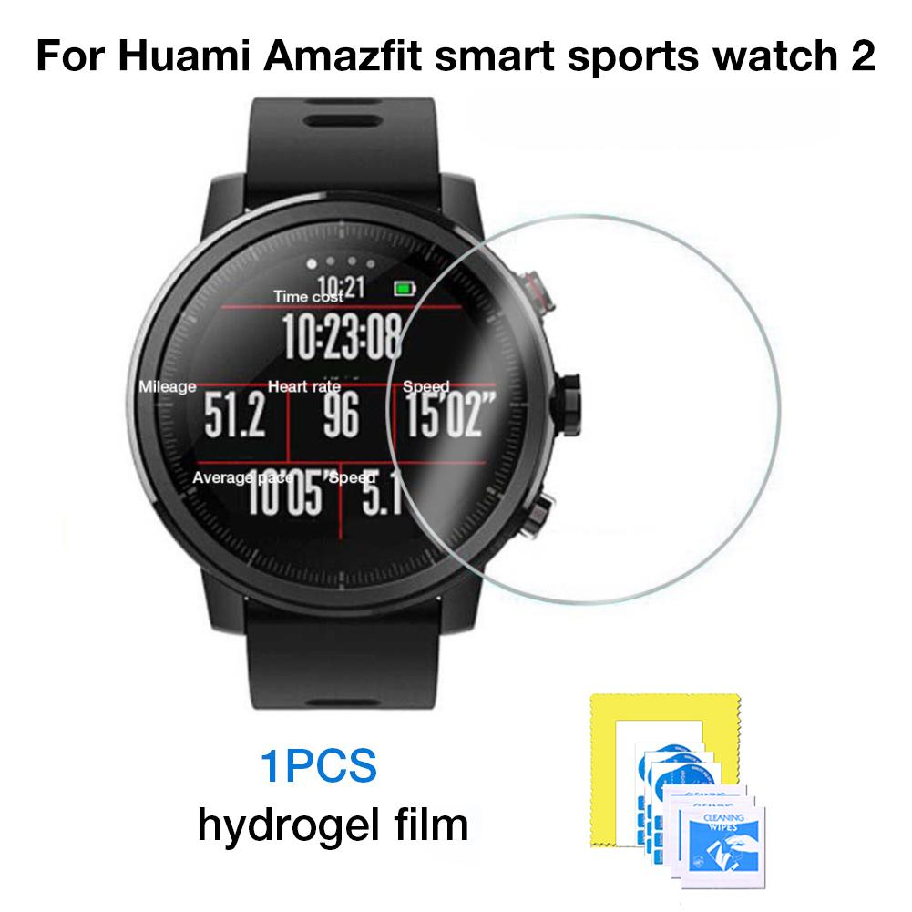 New Full Screen High Permeability Water Gel Film 3D HD Anti-drop Film For Xiao Huami AMAZFIT Intelligent Sports Watch 2