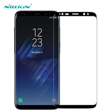 Nillkin 0.1MM Ultra Thin Tempered Glass Film for Samsung S8 Glass 3D Full Screen Protector for Samsung Galaxy S8 Protective Film