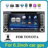 Bosion 2din Car DVD GPS for Toyota Hilux yaris VIOS Camry Corolla Prado RAV4 Prado 2003 2004 2005 2006 2007 2008 Reverse camera