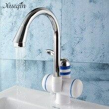 Сюэцинь бортике Мгновенный водонагреватель горячей холодной воде смеситель для кухни Ванная комната, Отопление Электрический раковина краны